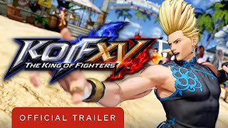 king of fighters xv   official benimaru nikaido: character trailer