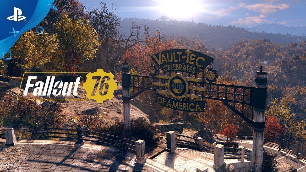fallout 76 – welcome to west virginia gameplay video   ps4